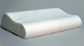 Подушка Dargez БИРМА ортопедическая, пенополиуретан, ткань 50% хлопок, 50% п/э 30х50х10/13 см 280 гр
