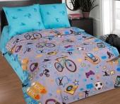 Детское постельное белье АртПостель ТИНЕЙДЖЕР поплин 1,5-спальное 70х70 см