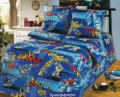 Детское постельное белье Svit бязь ГОСТ 1,5-спальное 70х70 см ТРАНСФОРМЕРЫ