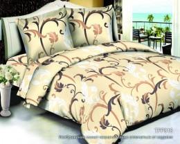 Постельное белье Орхидея сатин 2-спальное 70х70 см арт. ТРР-010