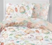 Детское постельное белье Mona Liza бязь 1,5-спальное 70х70+50х70 см ЦЫПЛЯТА