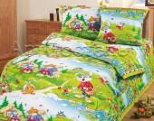 Детское постельное белье АртПостель В ГОСТЯХ У СКАЗКИ бязь беби