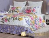 Постельное белье Хлопковый Край Роскошный ВАЛЕНСИЯ-1 сатин 1,5-спальное 70х70 см