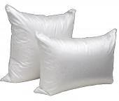 Подушка Dargez ВЕНЕЦИЯ трехкамерная высокая, элитный белый пух Экстра, шелк + хлопок 70х70 см