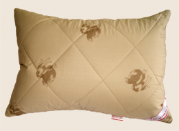 Подушка из верблюжьей шерсти  Формула Мод облегченная 50х70 см