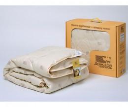 Одеяло Донской текстиль верблюжья шерсть Макси 1,5 спальное 140х205 см