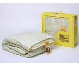 Одеяло Донской текстиль верблюжья шерсть облегченное 1,5 спальное 140х205 см
