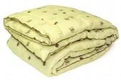 Одеяло ПИЛЛОУ Верблюжья шерсть микрофайбер теплое 1,5-спальное 140х205 см