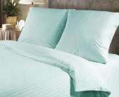 Постельное белье Веросса страйп-сатин Роял Вlue sky  2-спальное 70х70 см