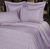Постельное белье Mona Liza Royal ВОЛНА ЛАВАНДА-09 жаккард 2-спальное 4 наволочки