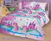 Детское постельное белье Svit бязь ГОСТ 1,5-спальное 70х70 см ВОЛШЕБНАЯ СТРАНА
