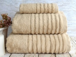 Полотенце махровое бамбук IRYA Wella Beige (беж) 70х130