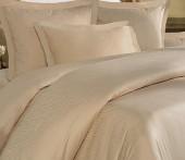 Постельное белье Mona Liza Royal ЗЕБРА ЛАТТЕ-08 жаккард 2-спальное 4 наволочки