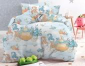 Детское постельное белье Mona Liza бязь 1,5-спальное 50х70 см ЗОЛУШКИ