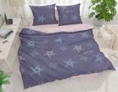 Постельное белье Svit бязь ГОСТ 1,5-спальное 70х70 см арт.Звезды синий 203